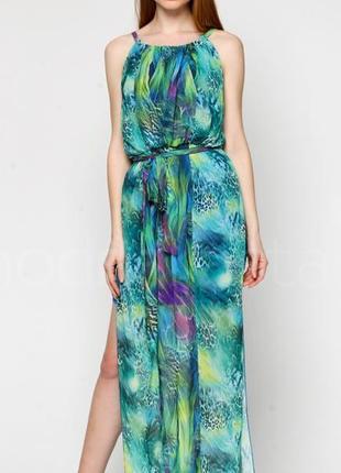 Шикарное длинное платье morgan