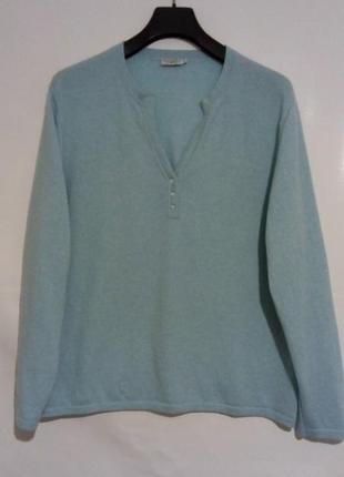 Теплый кашемировый свитер, джемпер, пуловер свободного кроя, большой размер, bexleys
