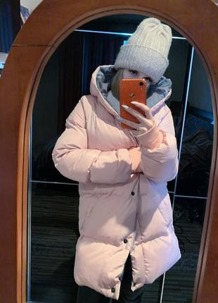 Курточка зефирка зима, пуховик s до -15