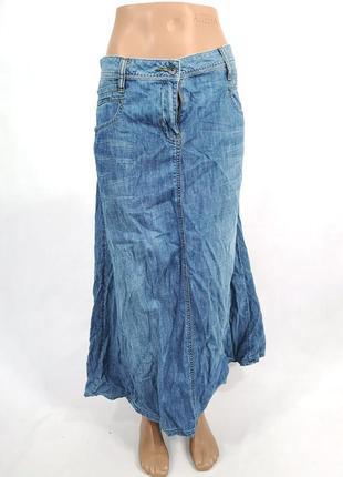 Юбка макси джинсовая fat face