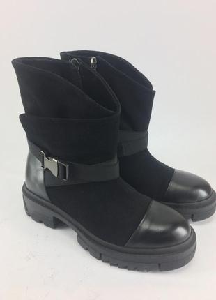 Супер теплые натуральные женские ботинки