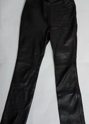 Штани брюки кожаные шкіряні ashy london розмір s