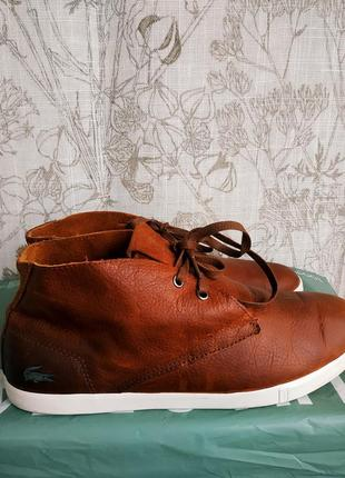 Ботинки lacoste франция