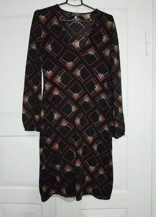 Теплое платье с пышным рукавом (италия)