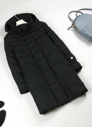 Крутой финский пуховик с капюшоном / пуховое пальто люкс оригинал joutsen l xl