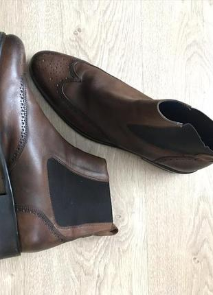 Туфли челси броги brett&sons