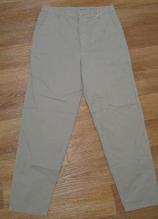 Стильные штаны чиносы с высокой посадкой cos распродажа
