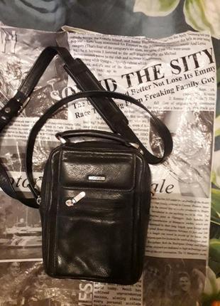 Кожаная сумка мужская grande