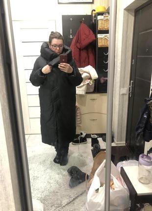 Пуховик,пальто,куртка зима зимняя оверсайз