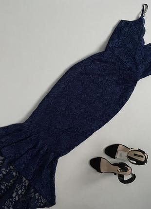 Роскошное мерцающее вечернее платье quiz