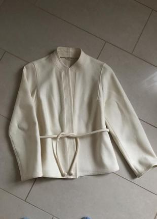 Тренч эксклюзив шерстяной винтаж дорогой бренд германии delmod размер m