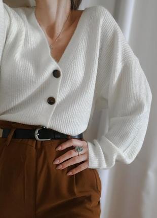 Кардиган, свитер, шерстяной кардиган