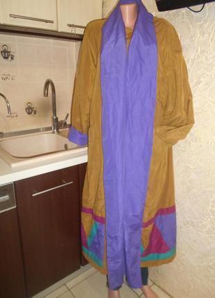 #lifestyles by mulberry# винтажный крутейший пуховик оверсайз в пол#теплое пальто #