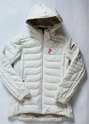 Куртка пуховик peak performance junior  160 см