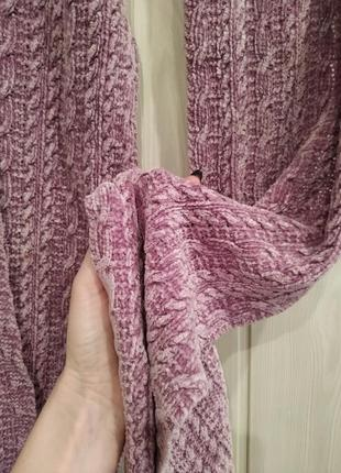 Велюровый шарф