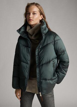 Куртка пуховик massimo dutti