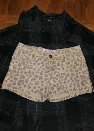 Короткие джинсовые шорты р с