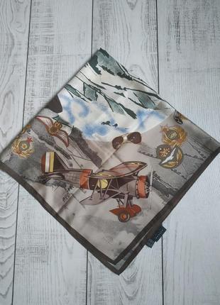 Винтажный шелковый платок bogner
