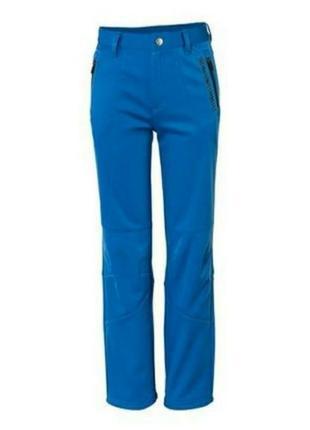 Теплые softshell брюки crivit для мальчика122-128, 146-152, 158-164.