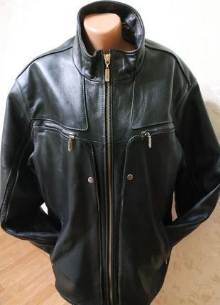 Кожаная куртка wildox 5xl, курточка