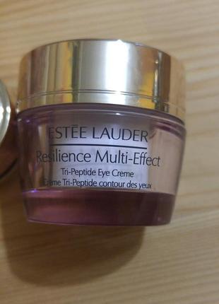 Крем от морщин вокруг глаз estee lauder resilience tri-peptide multi-effect 10 мл