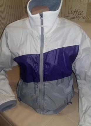 Супер куртка  на флизе