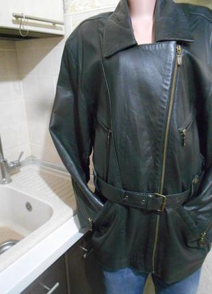 #maddox# made in italy#крутая брендовая куртка косуха 100% кожа #