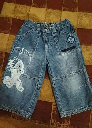 Шорты джинсовые на 6-8 лет