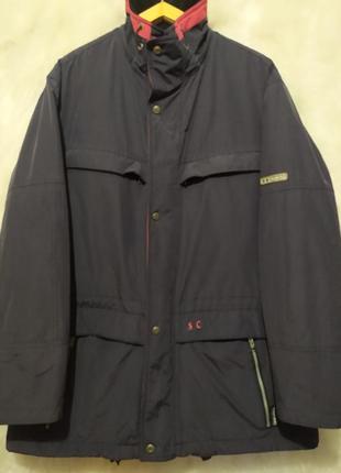 Летние цены,зимой будет дороже!классная утепленная мужская куртка испанского  бренда s&c