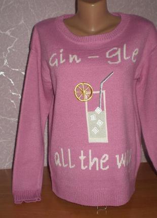 Продам фирменный теплый свитер