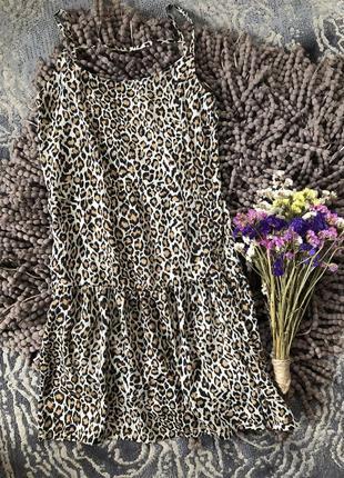 Актуальный леопардовый сарафан mango