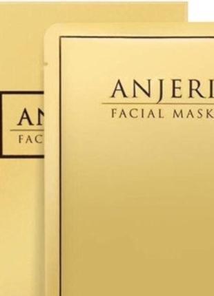 Тайская омолаживающая маска для лица мгновенного действия anjeri gold