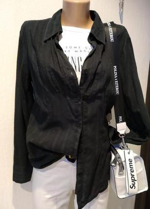 Отличная блузка рубашка женская тонкий хлопок