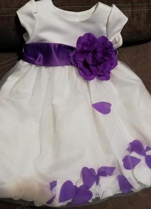 Очаровательное платье на годик, праздник, новый год