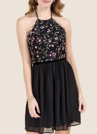 Платье с открытой спинкой francesca's