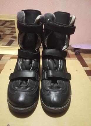 Ботинки ортопедические зима
