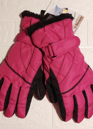 Женские теплые лыжные перчатки