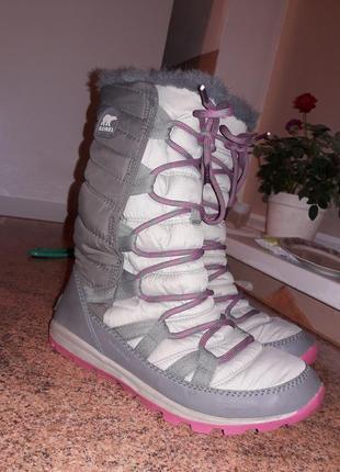 Мембранные термо сапоги sorel стелька 25 см+ термо носки