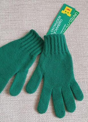 Шерстяні перчатки benetton