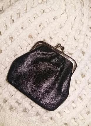 Красивый кожаный кошелёк. италия.
