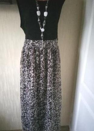 Роскошное платье батальный р. 62/64 yours london