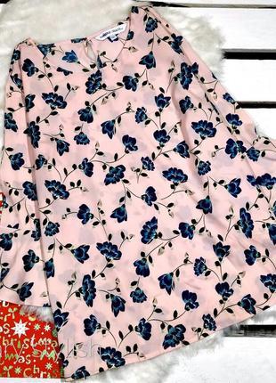 Шифоновая блузка цвет розовый capsule