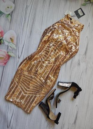 🌿нарядное, сногшибательное платье с блестками cecilia от parisian. размер m-l.🌿