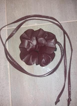 Ремінь з квіткой