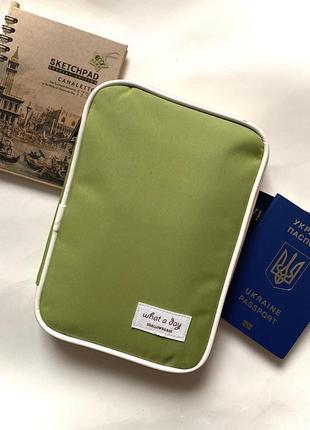 Новый кошелек - клатч для документов / органайзер zara