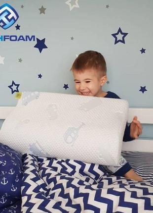 Самая лучшая детская ортопедическая подушка для детей от 2 до 10 лет!