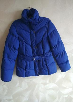 Яркая синяя куртка jazlyn еврозима германия