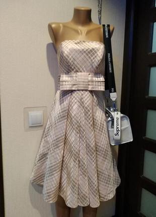 Крутое стильное вечернее коктейльное платье