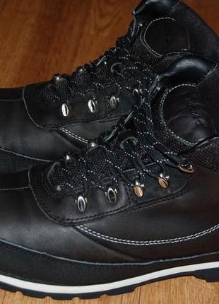 Кожаные ботинки 42 р timberland оригинал хорошее состояние