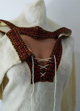 Кофта с капюшоном, свитер, пуловер, джемпер.